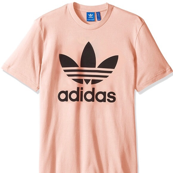 8683f547 adidas Shirts | Peach Mens T Shirt | Poshmark
